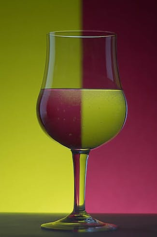 wine glass divided abstract free