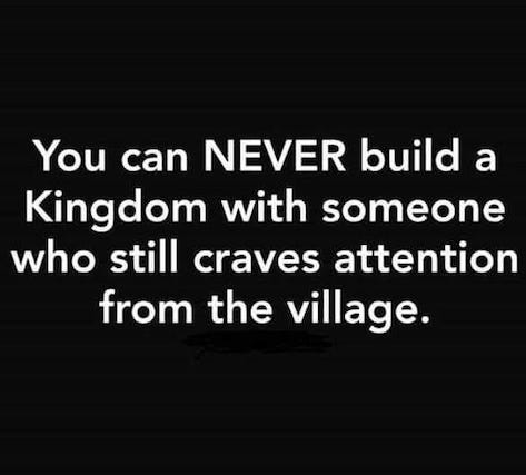 Kingdom of God and Village Quote